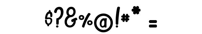CAMELTOE kalypse Font OTHER CHARS