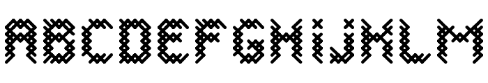 CANEVASRegular Font UPPERCASE