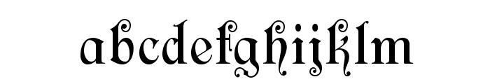 CARSageOpti Font LOWERCASE