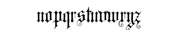 CAT Altgotisch Font LOWERCASE