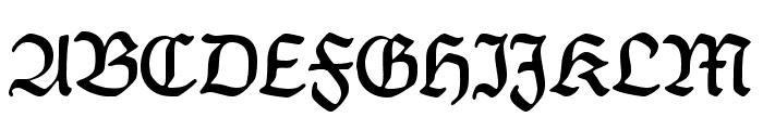 CAT Franken-Deutsch Font UPPERCASE