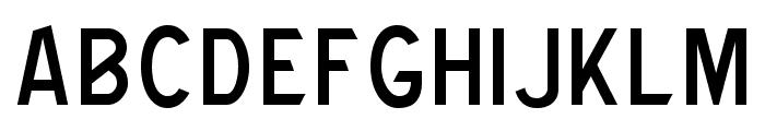 CAT Robertson Font UPPERCASE