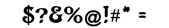 CATAltenglisch Font OTHER CHARS