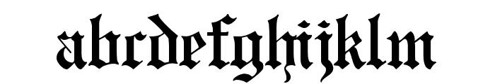 CATEngravers Font LOWERCASE