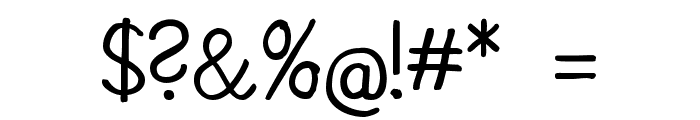 CATKakographie Font OTHER CHARS