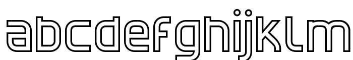 CATNorthLicht-Bold Font LOWERCASE