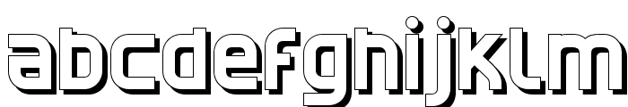 CATNorthShadow Font LOWERCASE