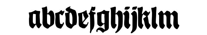 CATSchmalfetteThannhaeuser Font LOWERCASE