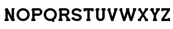 Cabal Bold Font UPPERCASE