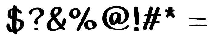 Caballar Font OTHER CHARS