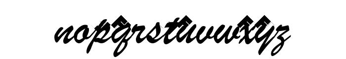 Cabaret Normal Font LOWERCASE