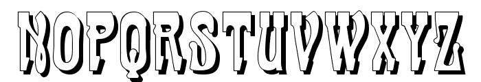 CabaretShadow Font LOWERCASE