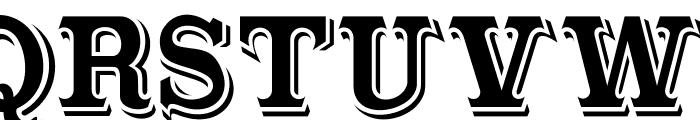 Cabbagetown Font UPPERCASE