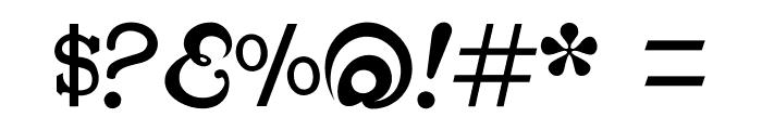 CabbagetownBookStd Font OTHER CHARS