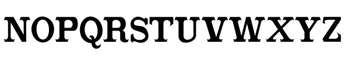CabbagetownBookStd Font UPPERCASE