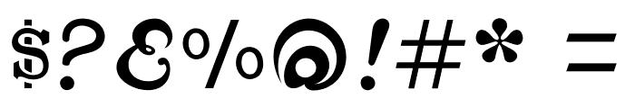 CabbagetownSmCapsStd Font OTHER CHARS