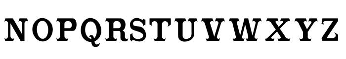 CabbagetownSmCapsStd Font LOWERCASE