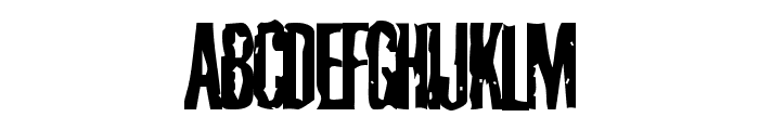 Cabeen Condensed Font UPPERCASE