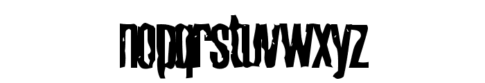 Cabeen Condensed Font LOWERCASE
