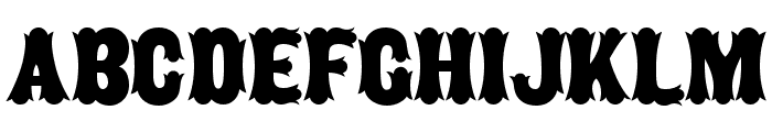 Caberne Font LOWERCASE