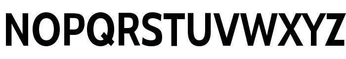 Cabin Condensed Bold Font UPPERCASE