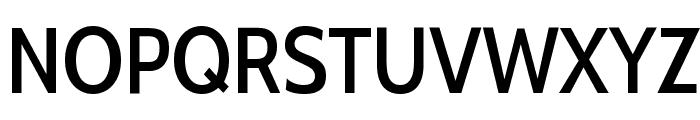 Cabin Condensed Medium Font UPPERCASE