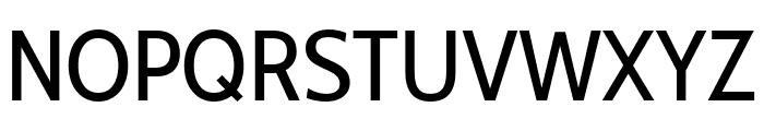 Cabin Condensed Regular Font UPPERCASE
