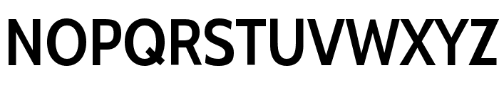 Cabin Condensed SemiBold Font UPPERCASE