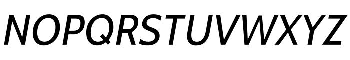 Cabin-Italic Font UPPERCASE