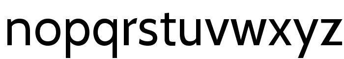 Cabin-Regular Font LOWERCASE