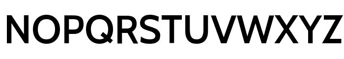 Cabin SemiBold Font UPPERCASE