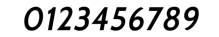 Cabin-SemiBoldItalic Font OTHER CHARS