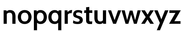 Cabin SemiBold Font LOWERCASE