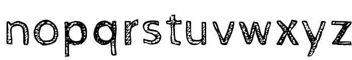 Cabin Sketch Regular Font LOWERCASE