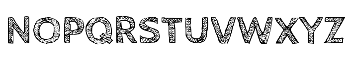 CabinSketch Bold Font UPPERCASE