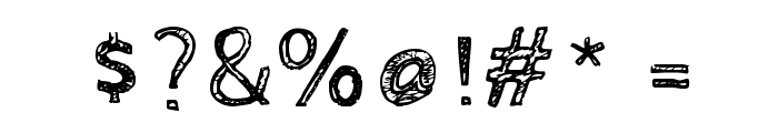 CabinSketch Font OTHER CHARS