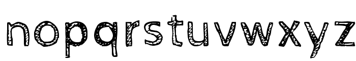 CabinSketch Font LOWERCASE