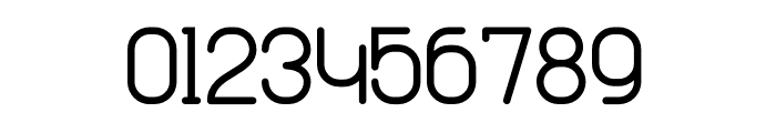 Cabo Rounded Regular Font OTHER CHARS