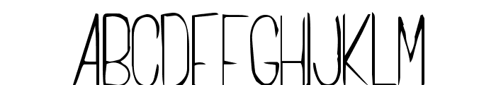 Cachex Thin Font UPPERCASE