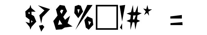 Cactus Plain Font OTHER CHARS