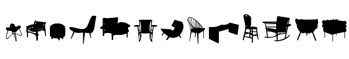 CadeirasPC Font LOWERCASE