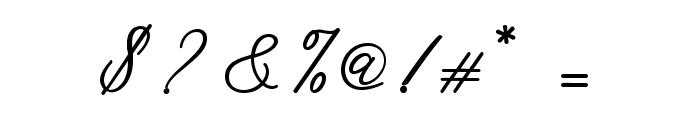 CadosaScript Font OTHER CHARS
