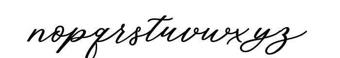 CadosaScript Font LOWERCASE