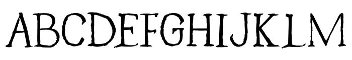 Caerphilly DEMO Regular Font UPPERCASE
