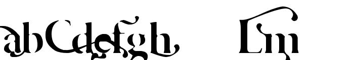 Cafe Lounge 19 Font UPPERCASE