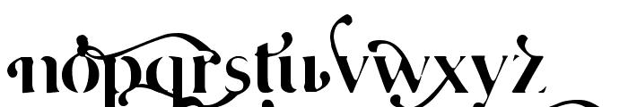 Cafe Lounge 19 Font LOWERCASE