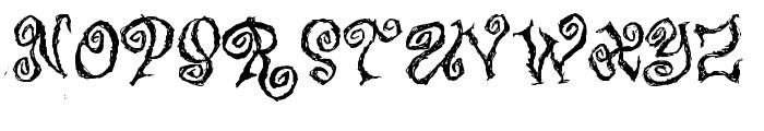 Caffe Latte Font UPPERCASE