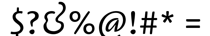 Cagliostro-Regular Font OTHER CHARS
