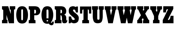 CairoExtended Regular Font UPPERCASE