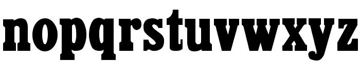 CairoExtended Regular Font LOWERCASE